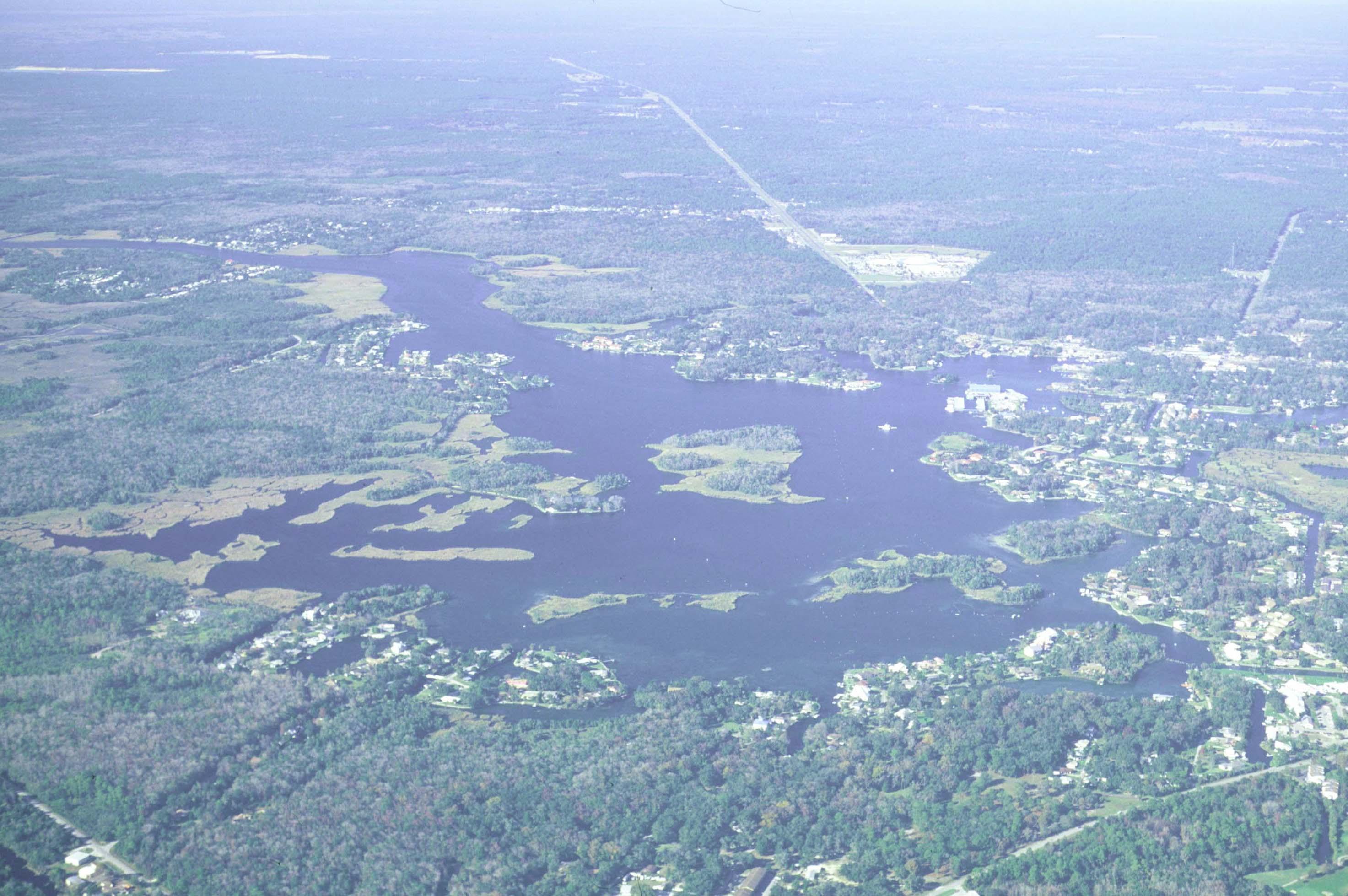 Florida Manatee Expedition  A Birds Eye View - Florida map crystal river